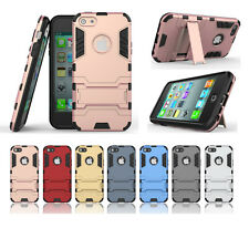 Hybrid Armor Stand Mobile Phone Back PC+TPU Case For iphone 7 Plus & 6/6s Plus 5
