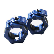 2 pcs Collars Standardes Olympic Barbell Collars Weight Lifting Fitness Training