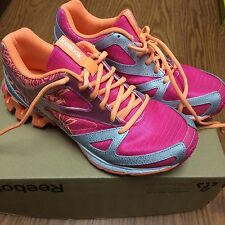 "Girls/Womens Reebok Zigtech ""ZigKick Trail 1.0""Shoes Pink/Orange"