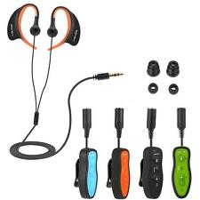8GB MP3 Music Player Waterproof with Headphone Clip for Underwater Sports S2F6
