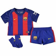 Nike Barcelona Home Kit 2016 2017 Infants Royal/Rd Football Soccer Jersey Shorts