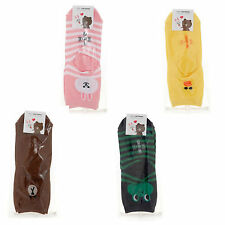 YJMAM Korea Line Friends Charater Fashion Men Women Unisex Casual Cute Socks