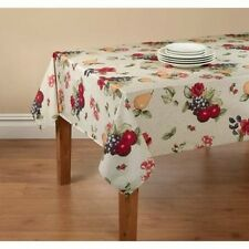 Mainstays Fruit Tablecloth with Table Protector. Huge Saving