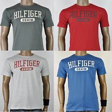 Tommy Hilfiger Denim Crew Neck Basic Muscle T-Shirt for Men 100% Cotton