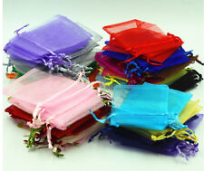 5*7cm Premium ORGANZA Wedding Favour GIFT BAGS Jewellery Pouches For Wedding