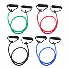 Hot Resistance Band Rope Tube Elastic Exercise for Yoga Pilates Workout DP
