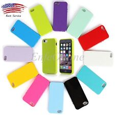 New Cute Color Soft Silicone Rubber  Gel TPU Back Case Cover for Apple iPhone 6S