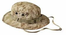 Mens Military Hat - Boonie Hat, Desert Digital Camo by Rothco 7 71/4 71/2 73/4