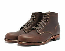 WOLVERINE 1000 MILE BOOTS BROWN W05301 MADE IN THE USA