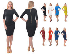 CLASSY WORK OFFICE WIGGLE PENCIL DRESS Classic VINTAGE 1950S 1960S DRESSES
