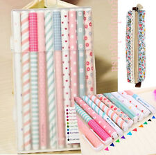 Korean Stationery Watercolor Gel Pens Set 10pcs Color Kandelia  DE