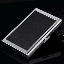 Waterproof Aluminum Business ID Credit Card Mini Wallet Holder Case Box DE