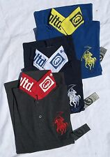 New Mens Ecko Unltd Panamera Long Sleeve Polo Shirt Very Attractive Comfortable