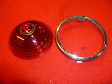 1935-36 Packard Senior taillight lense and bezel