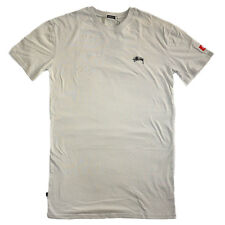 Stussy Men's T-Shirt Basic Tall Grey Tee