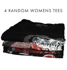 Sullen 4 Random Womens T -shirt Tee Streetwear Tattoo Art Urban Punk Brand New