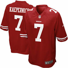 Brand New Red Scarlet NFL Nike Colin Kaepernick San Francisco 49ers Game Jersey