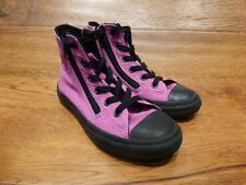 Converse CT All Star Vivid Pink Canvas Hi Top  Trainers Size UK 1 EUR 33