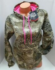 2016-17 NEW WOMENS REALTREE PINK CAMO PULLOVER FLEECE HOODIE SWEATSHIRT~XXL 2XL