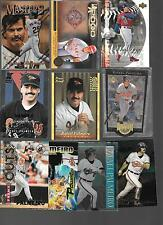 Lot of 10, All are Rafael Palmeiro Inserts W/ Refractor Press Proof Best Cuts