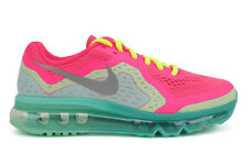 Nike Air Max 2014 631331 602 GS Youth Big Kids Pink Silver Athletic Running Shoe