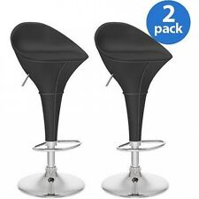 CorLiving Round Styled Adjustable Barstool, 100cm , Set of 2, Multiple Colours.
