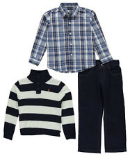 "Nautica Little Boys' Toddler ""Picnic Lunch"" 3-Piece Outfit (Sizes 2T - 4T)"