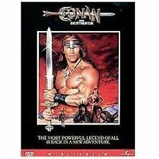 CONAN THE DESTROYER, Arnold Schwarzenegger DVD