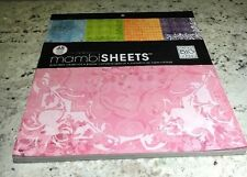 Paint Palette  MAMBI 12x12 Full Paper Pad 48 sheets Speciality Cardstock