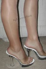 PEAVEY PANTYHOSE Hooters NFL Halloween Costume Hosiery NUDE Pick Size B C D Q