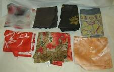 Vintage Lot of 7 Polyester & Silk Scarves Scarf Made in Italy, USA Japan
