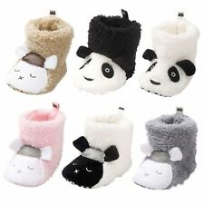 Baby Girl Newborn Winter Warm Boots Toddler Infant Soft Sole Shoes 0-18 Months