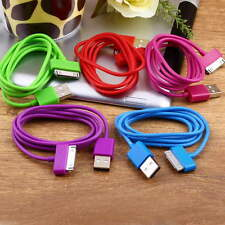 Hot USB Charger Sync Data Cable for iPad2 3 iPhone4 4S 3G 3GS iPod Nano Touch DE