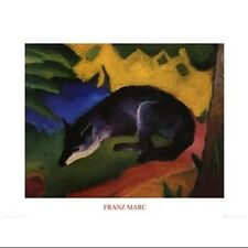 Fuchs Poster Print by Franz Marc (32 x 24). Delivery is Free