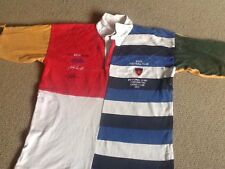 The Bath Lions 1989 British Tour Rugby Shirt L Jeremy Guscott Chilcott RARE !!
