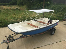 13FT ORKNEY DORY FISHING SPORT RIVER SEA LAKE BOAT (NO TRAILER OR OUTBOARD)