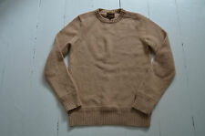 Fab - WILLIAM HUNT - Saville Row Mens Shetland Wool -   Crew neck Jumper  - M -