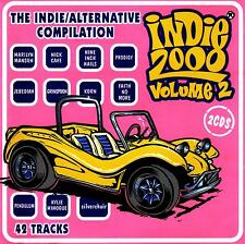 INDIE 2000 - VOLUME 2 / VARIOUS ARTISTS  -  2 CD SET