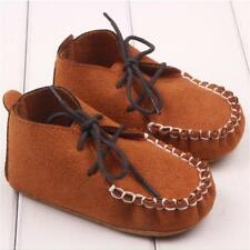Cute Baby Boys Soft Soled Nubuck Leather Shoes Anti-slip Crib Shoes Moccasin