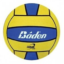 Baden Lexum Official Size 5 Deluxe Rubber Water Polo Ball, Blue/Yellow. Delivery