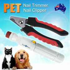 AU Pet Nail Clipper Cutter Scissors Rabbit and Grooming Care Grinder Clipper Kit