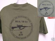 M14/ M1A T-SHIRT/ SWAT/ SNIPER/ MILITARY/.308/ MATCH/ NEW.
