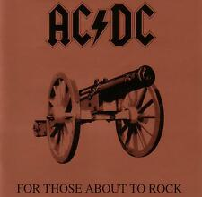 AC DC / FOR THOSE ABOUT TO ROCK  -  AS NEW CONDITION