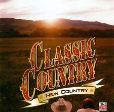CLASSIC COUNTRY  -  NEW COUNTRY /VARIOUS ARTISTS  -  2 CD SET - AS NEW CONDITION