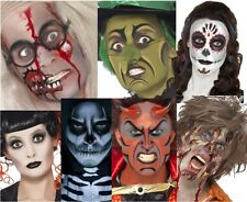 Makeup Kits Gothic Zombie Witch Day of Dead Devil Halloween Horror Party Paint