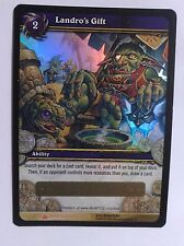 World of Warcraft Loot Card - Landro's Gift NEW Unscratched!!!!!