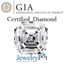 0.99CT I IF Asscher GIA Certified Natural Brilliant Loose Diamond (2101464694)