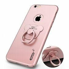 Luxury Ultra-thin Hard PC Protective Case Cover +Ring Stand For iPhone 6 6S Plus