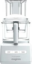 Magimix 4200XL White Compact Food Processor Stainless Steel Sabatier Blades