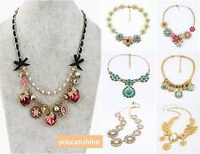 Premier Jewelry Luxury Flower Pendant Gold Chain Fashion Party Charm Necklace